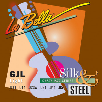 La Bella GJL-LE Gypsy Jazz Silk & Steel Компект струн для акустической гитары 11-51 LaBella