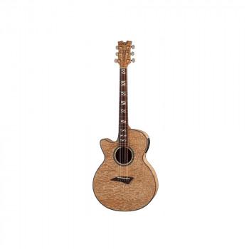 Dean PE QA L GN - электроакустическая гитара ЛЕВОСТОРОННЯЯ с вырезом из серии Performer Quilt Ash
