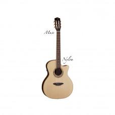 Luna Mus Nyl - электроакустическая фолк-гитара с нейлоновыми струнами с вырезом
