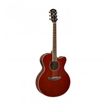 Yamaha CPX600RB - акустическая гитара со звукоснимателем, цвет Root Beer