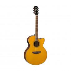 Yamaha CPX600VT - акустическая гитара со звукоснимателем, цвет Vintage Tint