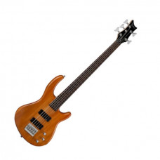 Dean E1 5 TAM - бас-гитара, тип «Ibanez» 5-струн.,24 лада,35,HH,2V+1T,Цвет – прозрачный янтарный