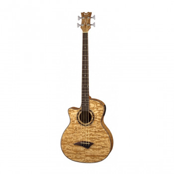 Dean EQABA GN L Exotica Quilt Ash A/E - электроакустическая бас-гитара с вырезом