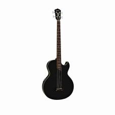 Washburn AB10B - электроакустическая бас-гитара, цвет-чёрный