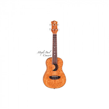 Luna UKE EX MB Exotic Ukulele - Maple Burl - Укулеле концертное серии Exotic