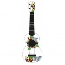 "WIKI UK/ANIMALS - гитара укулеле сопрано, рисунок ""животные"""