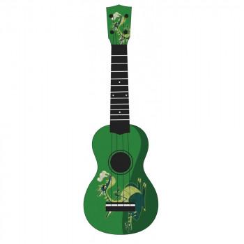 "WIKI UK/DRAGON - гитара укулеле сопрано, рисунок ""дракон"""