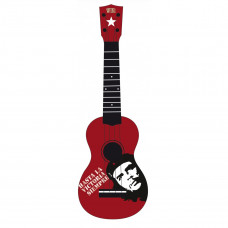 WIKI UK/REBEL/CHE - гитара укулеле сопрано,липа , изображение Эрнесто Че Гевары, чехол в компл