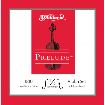 D`Addario J810-1/2M PRELUDE Комплект струн для скрипки D`Addario
