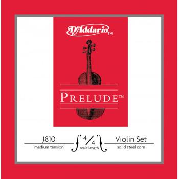 D`Addario J810-4/4M PRELUDE Комплект струн для скрипки D`Addario
