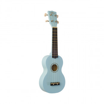 WIKI UK10S/BBL -  гитара укулеле сопрано, клен, цвет синий матовый, чехол в компл.