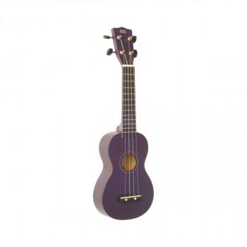 WIKI UK10S/VLT - гитара укулеле сопрано клен, цвет фиолетовый матовый, чехол в комплекте