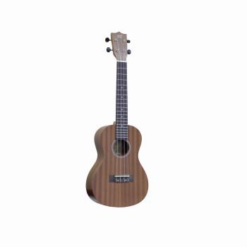 WIKI UK20C -  гитара укулеле-концертная, красное дерево, цвет натурал.