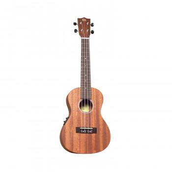 WIKI UK20CE - гитара укулеле-концертная с подключением, красное дерево, цвет натурал.