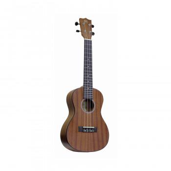 WIKI UK30C -  гитара Укулеле, концертная, красное дерево, цвет натурал.