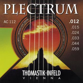 Thomastik AC112 Plectrum Комплект струн для акустической гитары сталь/бронза 012-059