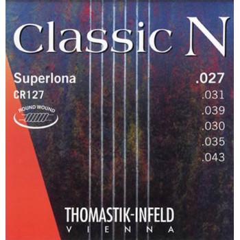 Thomastik CR127 Classic N Комплект струн для акустической гитары нейлон/посеребренная медь 027-043