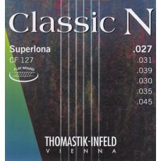 Thomastik CF127 Classic N Комплект струн для акустической гитары нейлон/хромированная сталь 027-045