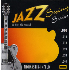 Thomastik JS110 Jazz Swing Комплект струн для акустической гитары Еxtra Light сталь/никель 10-44