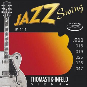 Thomastik JS111 Jazz Swing Комплект струн для акустической гитары Light сталь/никель 11-47