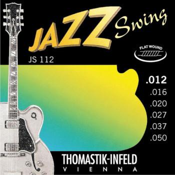Thomastik JS112 Jazz Swing Комплект струн для акустической гитары Medium Light сталь/никель12-50