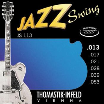 Thomastik JS113 Jazz Swing Комплект струн для акустической гитары Medium сталь/никель 13-53
