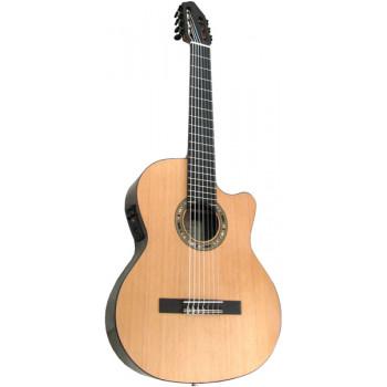 Kremona F65CW-7S Performer Series Fiesta Электро-акустическая 7-струнная класс. гитара с вырезом