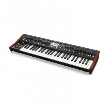 Behringer DEEPMIND 12 - аналоговый синтезатор, 49 кл., 12-гол. полифония, Wi-Fi