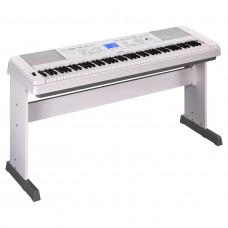 Yamaha DGX-660WH - интерактивный синтезатор, 88кл. GHS,192 полиф., 554 тембра, 205 стилей, БП, белый