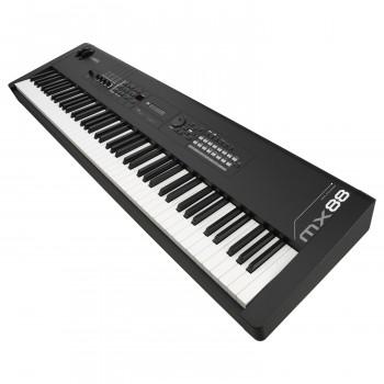 Yamaha MX88 BK - синтезатор, 88 кл. GHS, 128 полиф., 1106 тембров + 61 ударных, GM : 128 + 1,