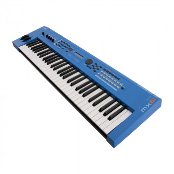 Yamaha MX61 BU - синтезатор, 61 кл., 128 полиф., 978 тембров + 60 ударных, GM : 128 + 1,