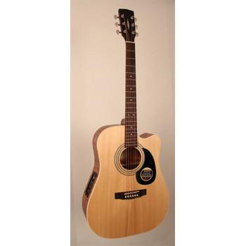 Parkwood W84FM-OP Электро-акустическая гитара с вырезом