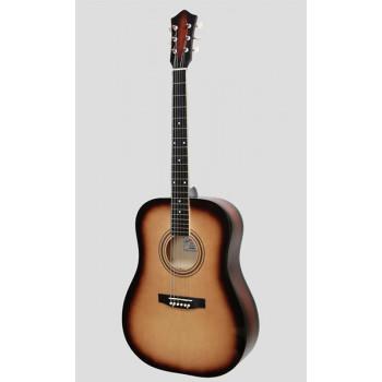 Амистар M-61-SB Акустическая гитара цвет санберст