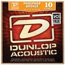Dunlop DAP1048 Комплект струн для акустической гитары фосф.бронза Extra Light 10-48