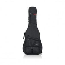 GATOR GT-ACOUSTIC-BLK -  усиленный чехол для акустических гитар, цвет черный