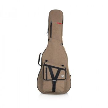 GATOR GT-ACOUSTIC-TAN - усиленный чехол для акустических гитар, цвет бежевый