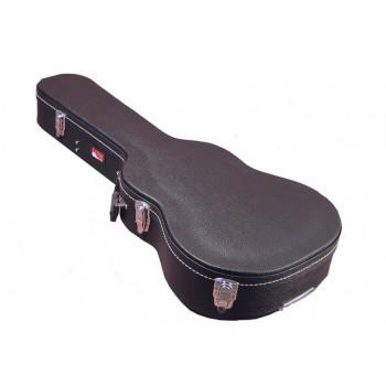 """GATOR GWE-ACOU-3/4 - деревянный кейс для 3/4 гитары , класс """"эконом"""","""