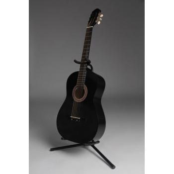 MiLena-Music ML-AM1-BK Акустическая гитара матовая черная