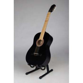 MiLena-Music ML-CM1-BK Классическая гитара матовая черная