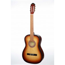 MiLena-Music ML-CM1-SB Классическая гитара матовая санберст
