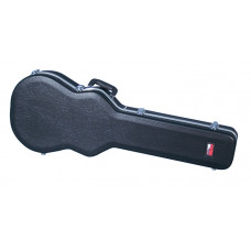 GATOR GC-LPS - пластиковый кейс для гитар типа Лес Пол, делюкс, черный, вес 3,81 кг