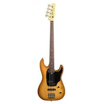 Godin 036028 Shifter Classic 4 Creme Brule HG RN Бас-гитара с чехлом.