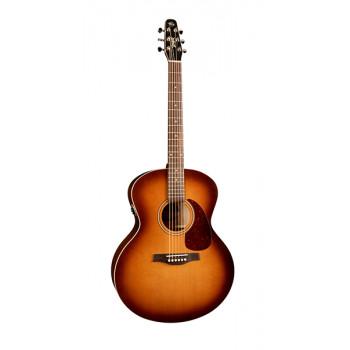 Seagull 032907 Entourage Rustic Mini-Jumbo QIT Электро-акустическая гитара