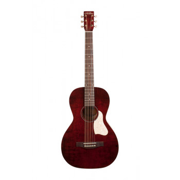 Art & Lutherie 042401 Roadhouse Tennessee Red A/E Электро-акустическая гитара с чехлом