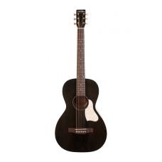 Art & Lutherie 042418 Roadhouse Faded Black A/E Электро-акустическая гитара с чехлом