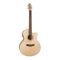 Seagull 036448 Heart of Wild Cherry CW Mini Jumbo T35 Электро-акустическая гитара