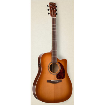 Simon & Patrick 033775 CWGT Vintage Burst Cedar QIT Электро-акустическая гитара с чехлом