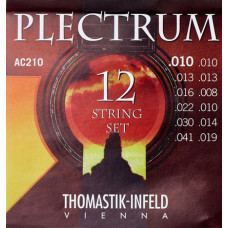 Thomastik AC210 Plectrum Комплект струн для 12-струнной акустической гитары сталь/бронза 010-041