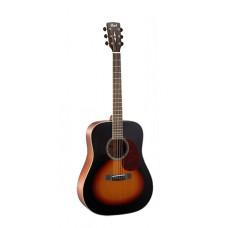 Cort EARTH100-SB Earth Series Акустическая гитара санберст