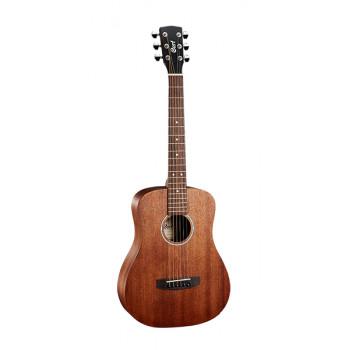 Cort AD-mini-M-OP Standard Series Акустическая гитара 3/4 с чехлом натуральный